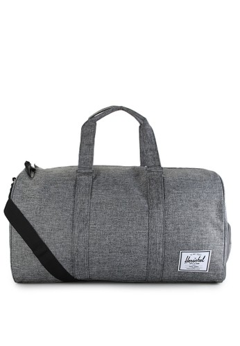 Herschel grey Novel Duffle HE449AC47LRWID_1