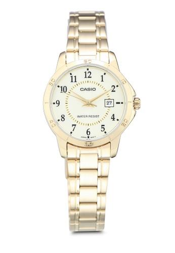Casio 金色 Casio LTP-V004G-9BUDF Watch 653DAACF2E490DGS_1