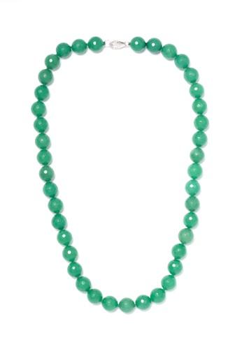 Celline Silver green Aventurine Necklace 00578ACD50E79BGS_1