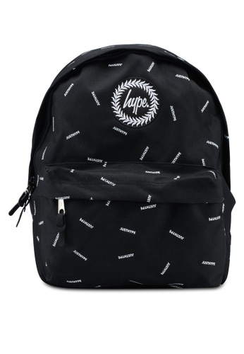 Just Hype black Scatter Backpack F5BE8AC7598A04GS_1