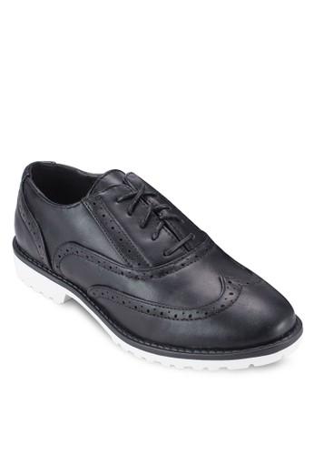 布魯克沖孔雕花休閒鞋esprit 會員, 女鞋, 鞋