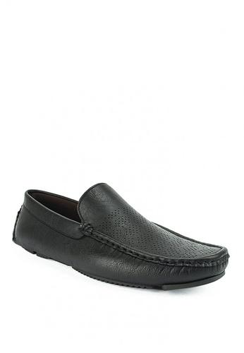 Mario D' boro Runway black Basillio Casual Shoes B227FSH77F5FF8GS_1