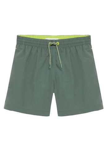 MANGO KIDS beige Basic Swimming Trunks 35612KAC0ACBC4GS_1