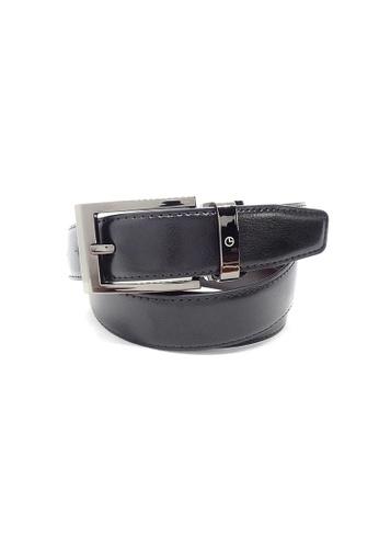 Goldlion black Goldlion Men Pin Belt - Black E74F9ACCD3882BGS_1