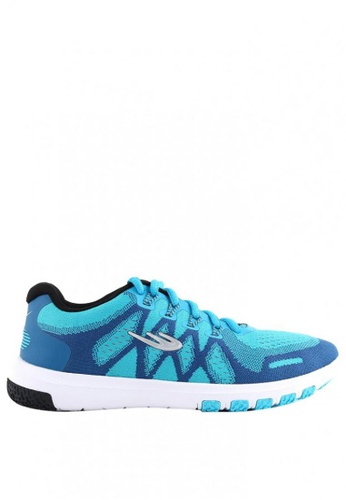 World Balance blue Weave Runner L Running Shoes 85FDBSHFCCB8C8GS_1
