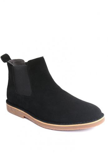 East Rock black Britton Formal Boots 34D8ASH815D1EBGS_1