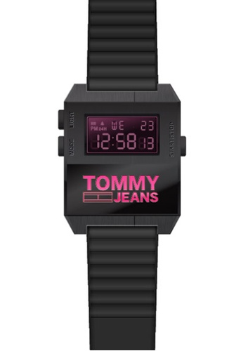Tommy Hilfiger black Tommy Hilfiger Black Men's Watch (1791676) 7A128ACFD998F5GS_1