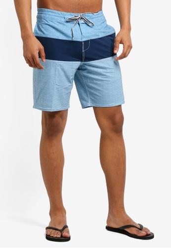 Billabong 藍色 Tribong LT Shorts BI783AA0SXGEMY_1
