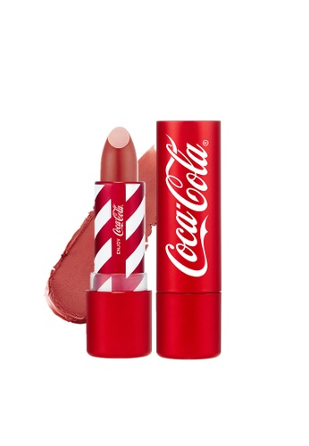 39137281e35db THE FACE SHOP red Limited Edition Coca-Cola Lipstick 05 Vintage Red  A54D6BE0CA0899GS 1