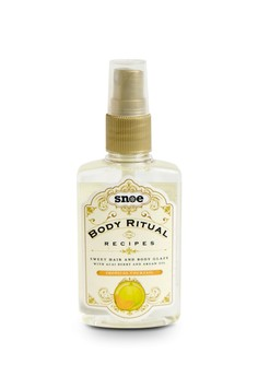 Body Ritual Recipes Sweet Hair & Body Glaze Tropical Cocktail