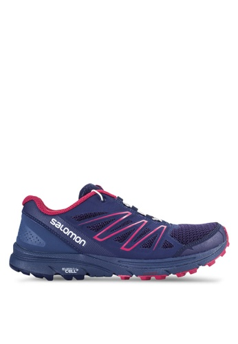 Salomon blue Sense Marin Shoes SA438SH22WDHMY_1
