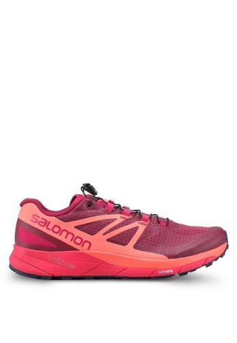 Salomon pink Sense Ride W Shoes 03AB1SHCD029EDGS_1
