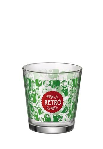Cerve Cerve 220ML 6 Pcs Retro Glass Tumbler / Tumbler Set  - Yellow / Red / Green / Blue 79DF7HL2D40CE0GS_1