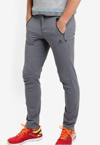 Odlo grey Spoor Pants OD608AA21KAWMY_1