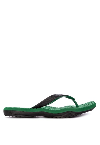Krooberg green Contour 8 Flip Flops 8F689SH98F6C3BGS_1