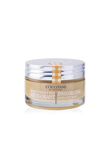 L'occitane L'OCCITANE - Invigorating Face & Eye Mask 75ml/2.7oz E4657BEDFFDA4DGS_1