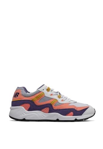 New Balance white Classic 850 Shoes 8A58ESH5BDF0AFGS_1