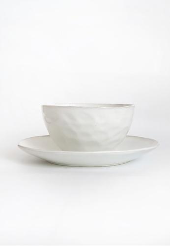 Your Lagom white White Clouds Plate & Bowl Set FB9CAHLD020E8DGS_1
