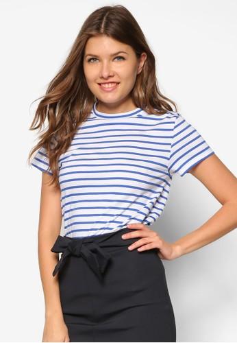 Wistezalora 泳衣ria 條紋TEE, 服飾, T恤
