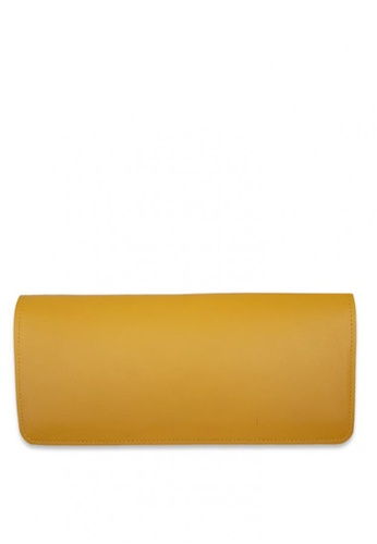 Louiebelle Collection yellow Andrie Checkbook Holder 41E91AC881ABE0GS_1
