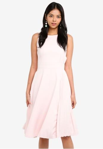 Megane pink Best Frenz Halona Dress 5A4BAAA8093A10GS_1