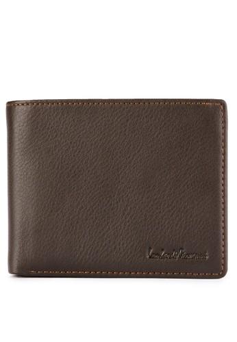 LOMBARDI GIOVANNI brown Vino Trifolds Wallet CC397AC79B89F3GS_1