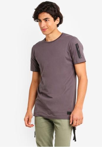 Flesh IMP 灰色 品牌刺繡T恤 69615AA30C8D00GS_1