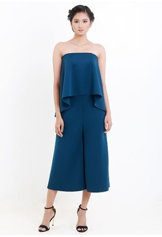 [PRE-ORDER] Strapless Midi Pantsuit