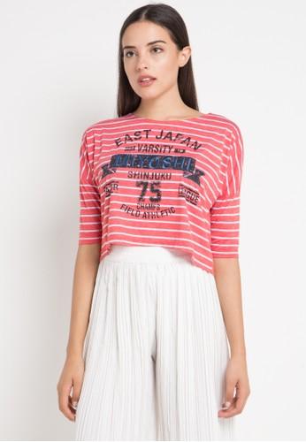 Miyoshi Jeans red 001Rd T-Shirt Knitting Printing 72B63AA69A1ABEGS_1