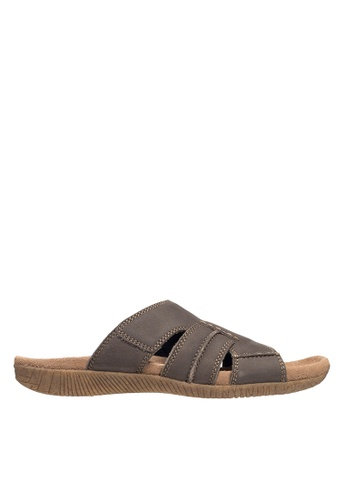Hush Puppies grey Hush Puppies Stalen Slide - Grey 065B7SH816F3A9GS_1