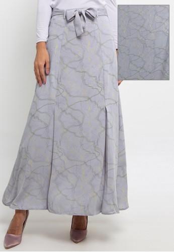 Kami for ZALORA grey Aleka Skirt 35758AA17854AFGS_1