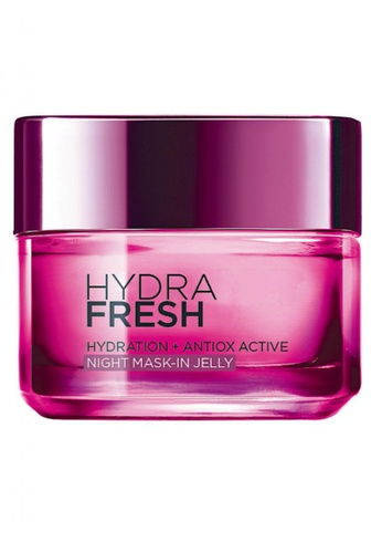 L'Oréal Paris white L'Oreal Paris Hydrafresh Night Mask In Jelly 50ml LO618BE12MIHMY_1
