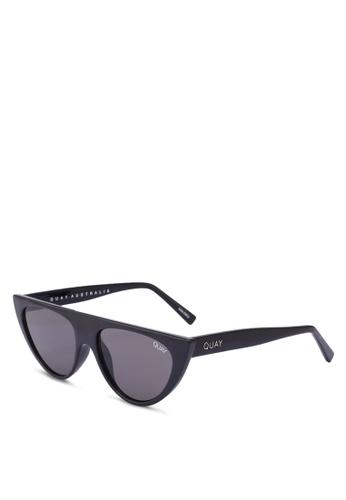 Quay Australia black RUN AWAY Sunglasses 0064FGL93F09F5GS_1