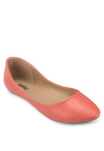 漆皮尖頭平底鞋, 女鞋zalora 順豐, 鞋