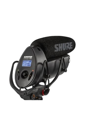 Shure black Shure VP83F LensHopper Shotgun Microphone with Integrated Audio Recorder 8EA13ESF1E9151GS_1