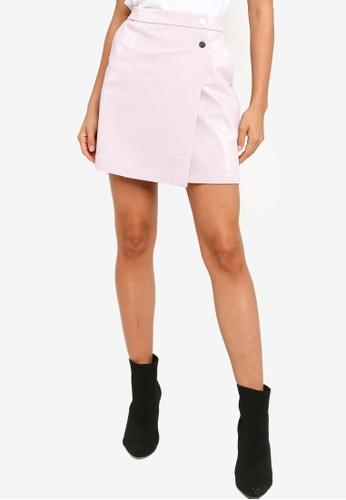 Guess pink Halah Skirt E778AAA229F802GS_1