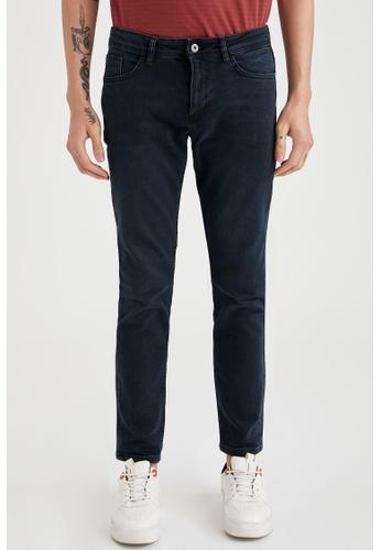 DeFacto blue Pedro Slim Jeans 1B02AAADF8191CGS_1