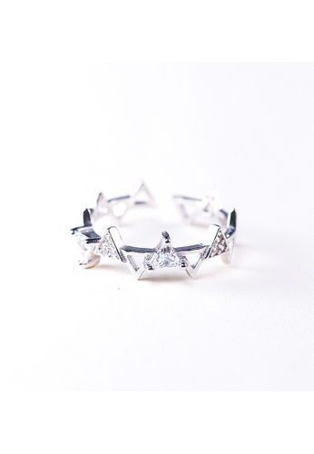 A-Excellence silver Premium S925 Sliver Geometric Ring 1E92BAC8089933GS_1