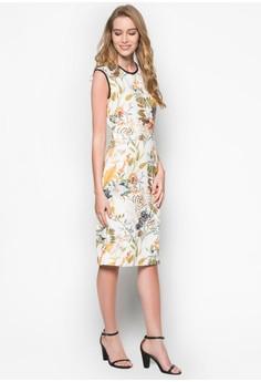 Azalea Floral Midi Dress