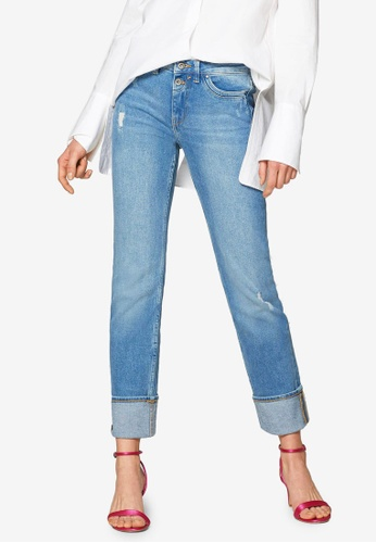 217f7a7abe9b Buy ESPRIT Turn Up Look Stretch Jeans Online on ZALORA Singapore