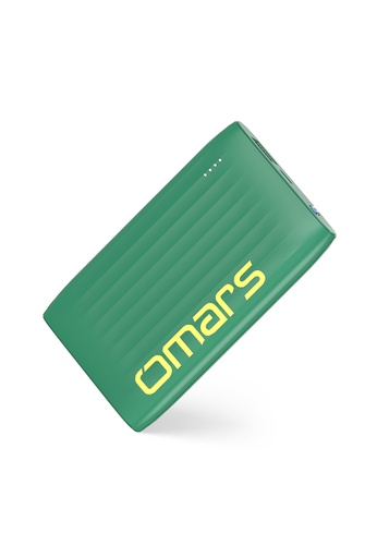 Omars green 5000mAh Portable Power Bank / Portable Charger With Torch Light 80740ES6D2EB5DGS_1