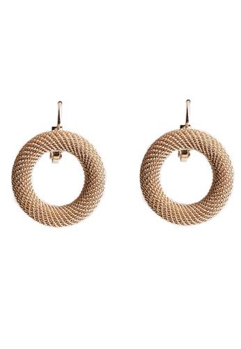 Gung Jewellery gold Nico Hoop Earrings in Gold 7B844ACBAC6445GS_1