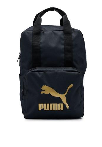PUMA black Originals Tote Backpack 8212CAC10291D8GS_1