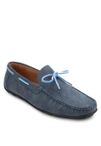 蝴esprit tst蝶結繫帶仿麂皮樂福鞋, 鞋, 懶人鞋