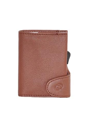 C-Secure brown C-Secure Italian Leather Wallet (Bruciato D32568) E3E9AACC88E621GS_1