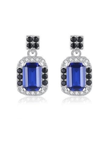 SUNRAIS silver High quality Silver S925 silver simple design earrings 6E26BAC729163CGS_1