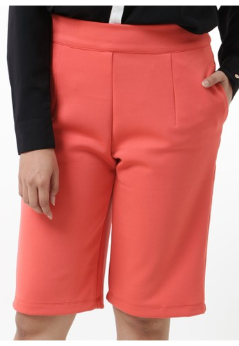 Cropped Pants - Orange