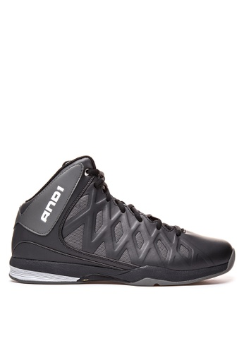 And1 black Unbreakable Basketball Shoes AN510SH01SSCPH_1