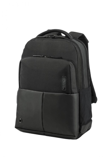 American Tourister black American Tourister Zork Backpack 01 (Black) AM582AC0SGFMMY_1