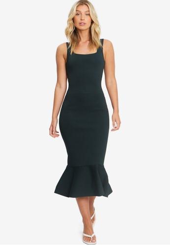 Tussah green Winford Knit Dress E93B5AAEB43720GS_1